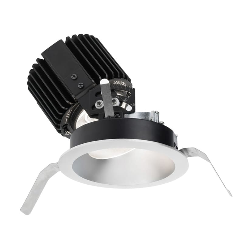 "WAC Lighting R4RAT-F Volta 4.5"" Round Adjustable Trim with LED Light"