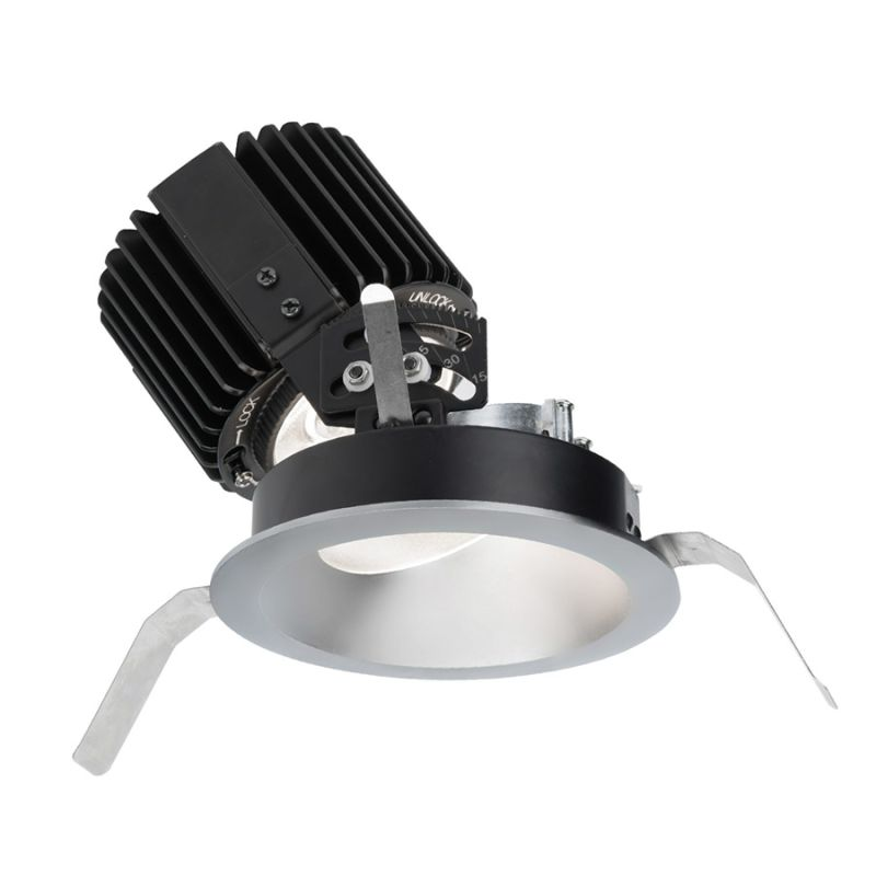 "WAC Lighting R4RAT-S Volta 4.5"" Round Adjustable Trim with LED Light"