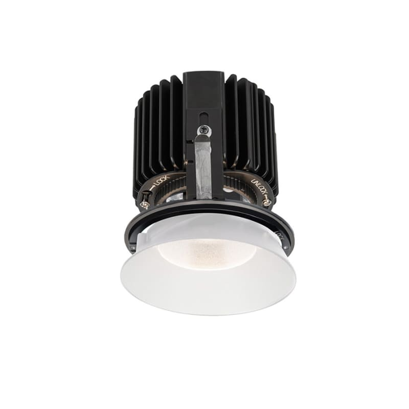 "WAC Lighting R4RD1L-W Volta 4.5"" Round Invisible Shallow Regressed"