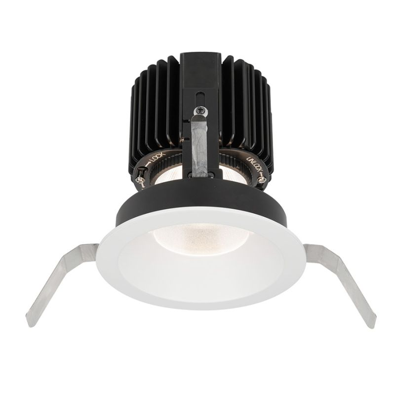 "WAC Lighting R4RD1T-N Volta 4.5"" Round Shallow Regressed Trim with LED"