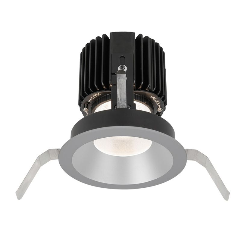 "WAC Lighting R4RD1T-S Volta 4.5"" Round Shallow Regressed Trim with LED"