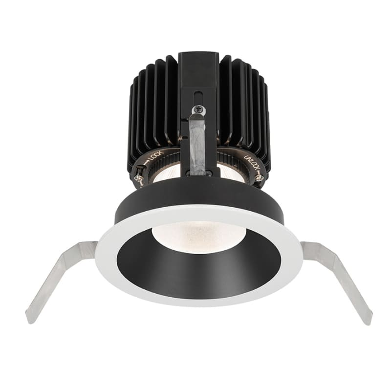 """WAC Lighting R4RD1T-W Volta 4.5"""" Round Shallow Regressed Trim with LED"""