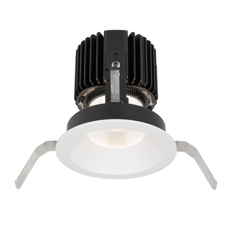 "WAC Lighting R4RD1T-W Volta 4.5"" Round Shallow Regressed Trim with LED"