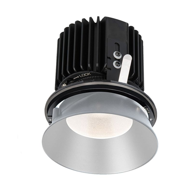 "WAC Lighting R4RD2L-S Volta 4.5"" Round Invisible Downlight Trim with"