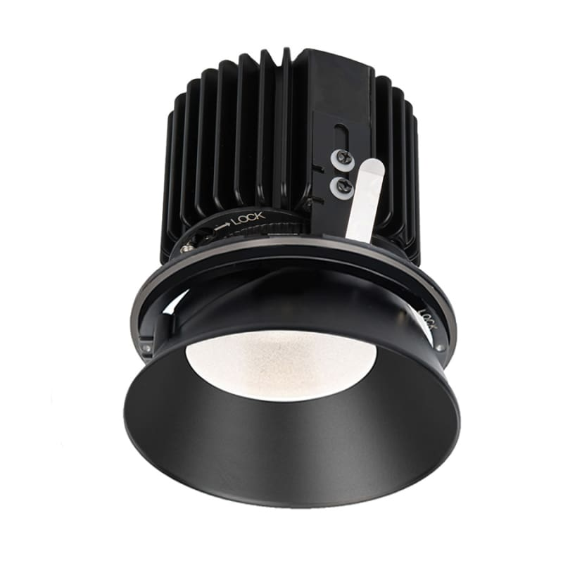 """WAC Lighting R4RD2L-W Volta 4.5"""" Round Invisible Downlight Trim with"""