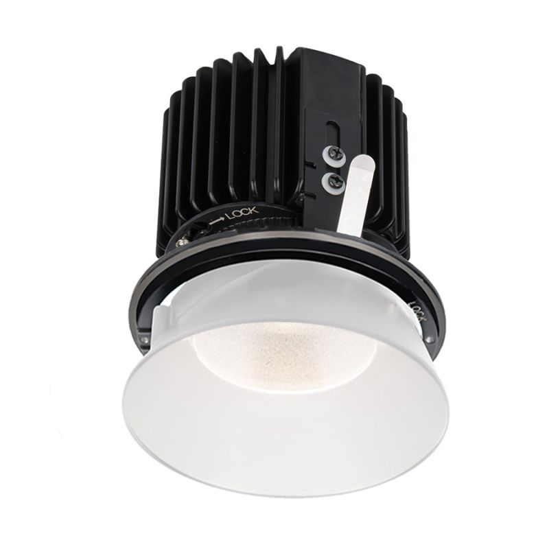 "WAC Lighting R4RD2L-W Volta 4.5"" Round Invisible Downlight Trim with"