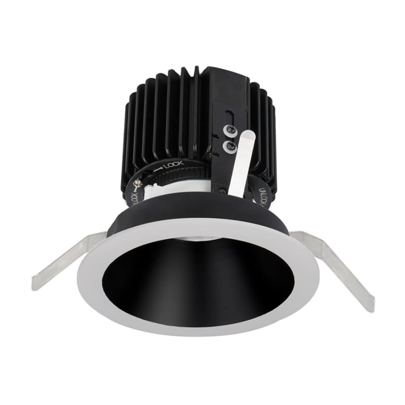 "WAC Lighting R4RD2T-F Volta 4.5"" Round Downlight Trim with LED Light"