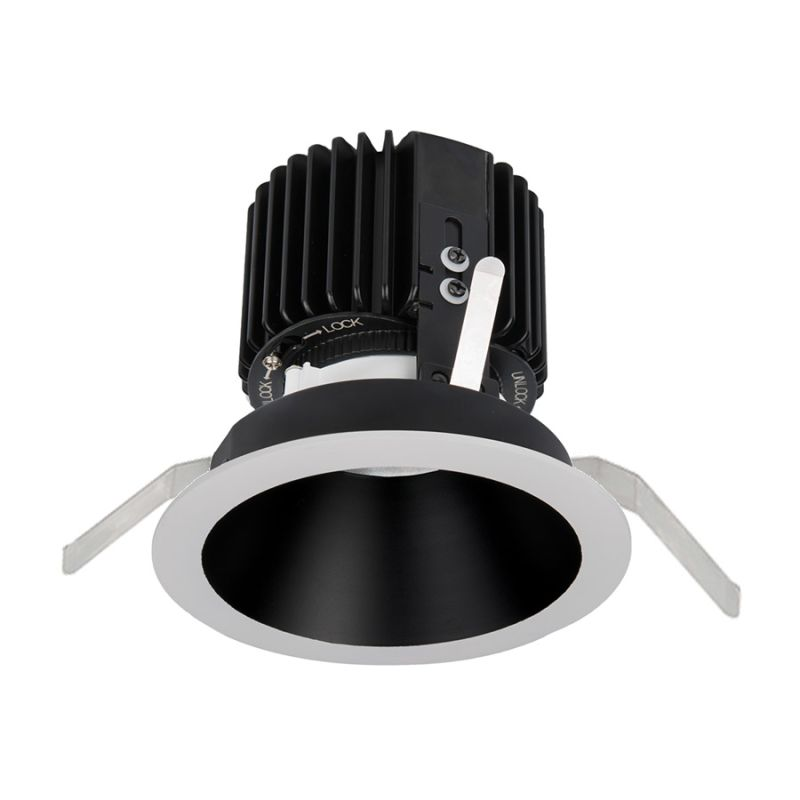 "WAC Lighting R4RD2T-W Volta 4.5"" Round Downlight Trim with LED Light"