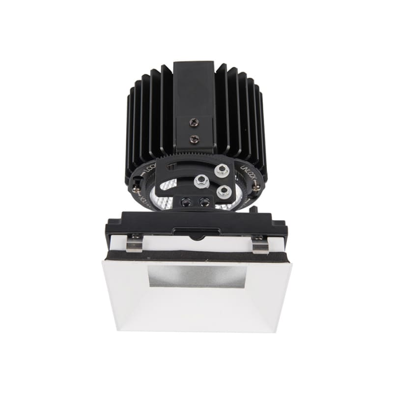 "WAC Lighting R4SAL-F Volta 4.5"" Square Invisible Adjustable Trim with"
