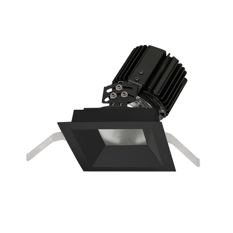 "WAC Lighting R4SAT-S Volta 4.5"" Square Adjustable Trim with LED Light"