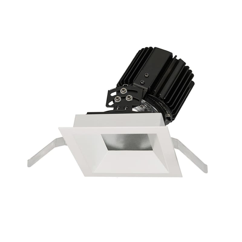 "WAC Lighting R4SAT-S Volta 4.5"" Square Adjustable Trim with LED Light"