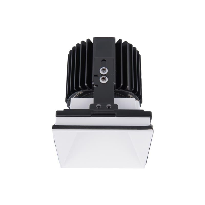 """WAC Lighting R4SD2L-F Volta 4.5"""" Square Invisible Downlight Trim with"""