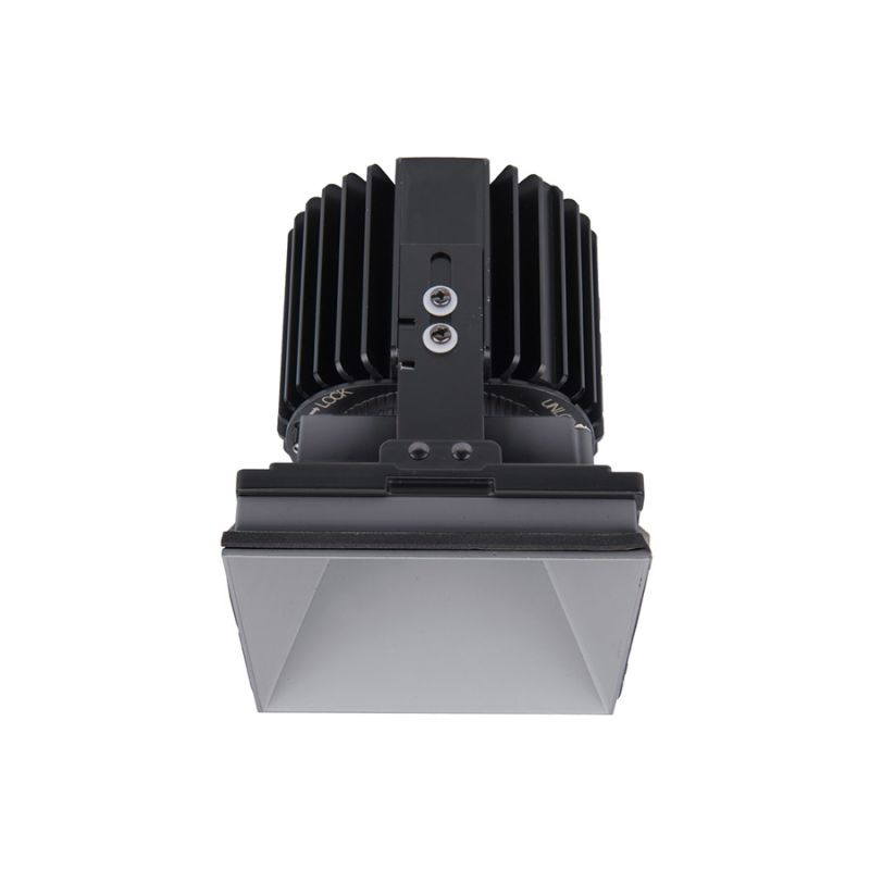 """WAC Lighting R4SD2L-N Volta 4.5"""" Square Invisible Downlight Trim with"""