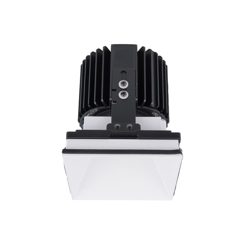 "WAC Lighting R4SD2L-S Volta 4.5"" Square Invisible Downlight Trim with"