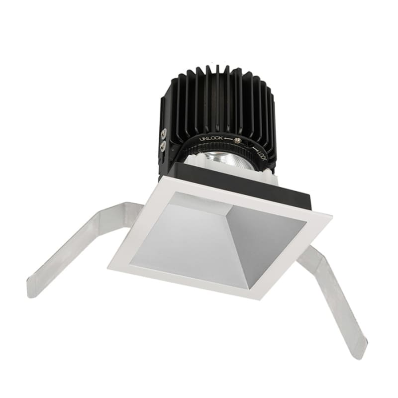 "WAC Lighting R4SD2T-F Volta 4.5"" Square Downlight Trim with LED Light"