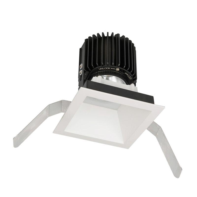 "WAC Lighting R4SD2T-N Volta 4.5"" Square Downlight Trim with LED Light"
