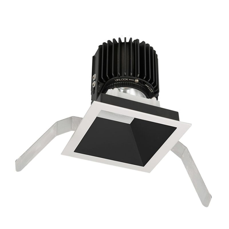 "WAC Lighting R4SD2T-N Volta 4.5"" Square Downlight Trim with LED Light"