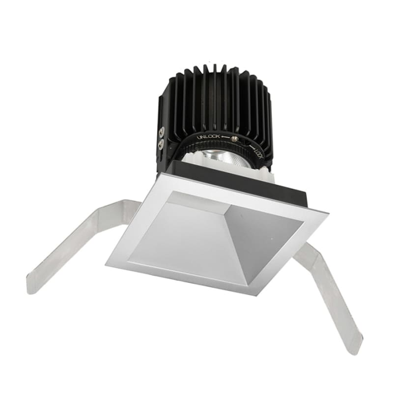 "WAC Lighting R4SD2T-S Volta 4.5"" Square Downlight Trim with LED Light"