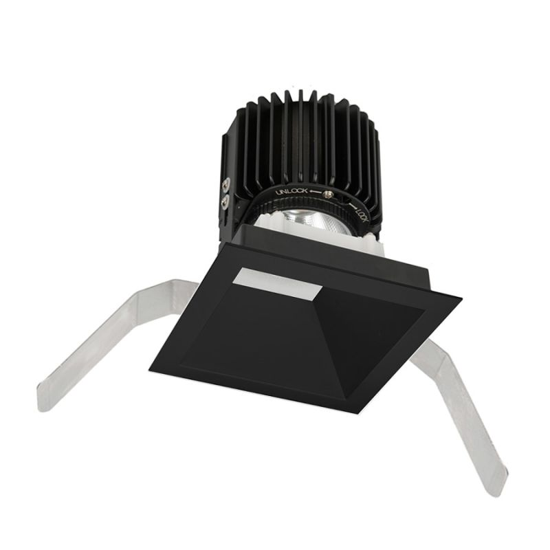"WAC Lighting R4SD2T-W Volta 4.5"" Square Downlight Trim with LED Light"