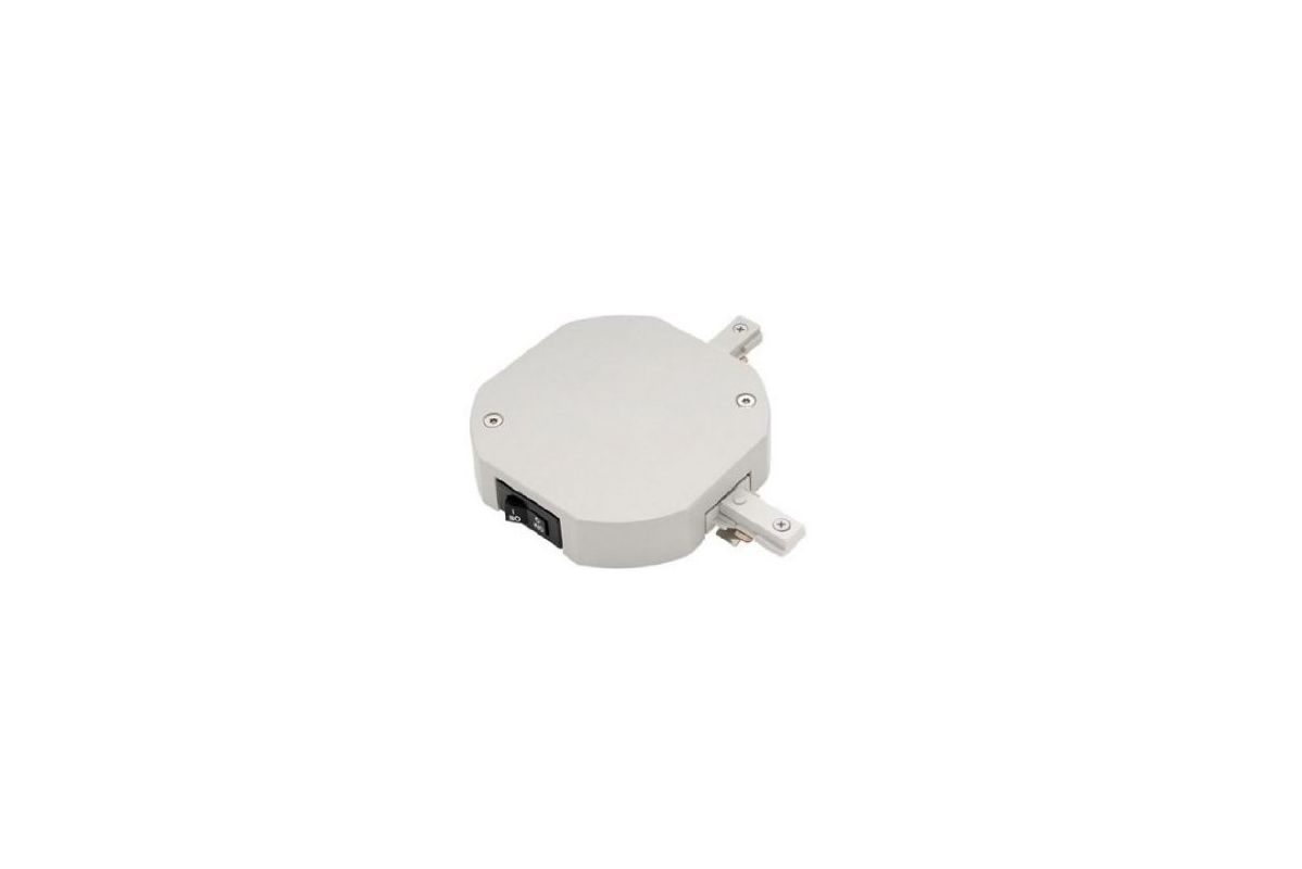 WAC Lighting TJL-JI-2-5A 2 x 5 Amp 1200 Watt Double Live End Track