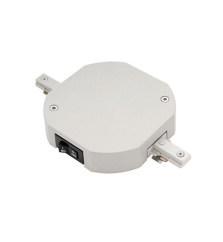 WAC Lighting TLL-LI-2-5A 2 x 5 Amp 1200 Watt Double Live End Track