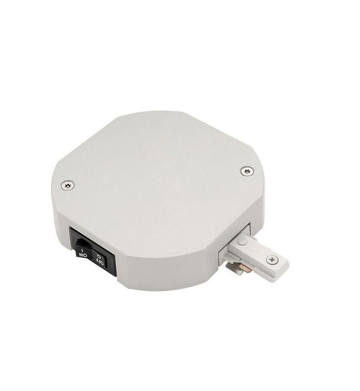 WAC Lighting TLL-LLE-2A 2.5 Amp 300 Watt Single Live End Track Current Sale $90.00 ITEM#: 1647014 MODEL# :TLL-LLE-2A-WT UPC#: 790576129839 :