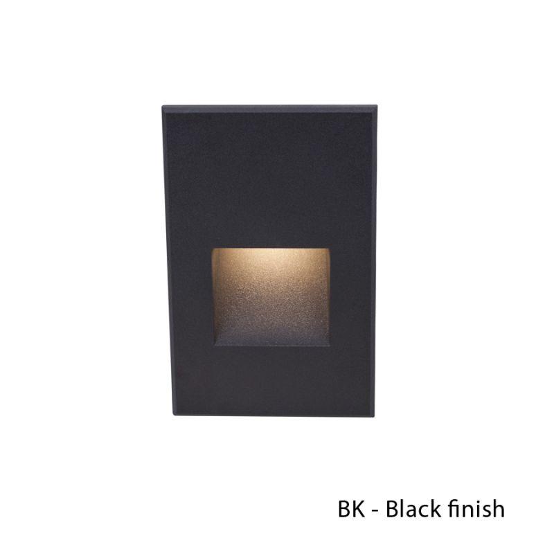 WAC Lighting WL-LED200-AM Rectangular Line Voltage LED Step Light with Sale $116.50 ITEM#: 2277217 MODEL# :WL-LED200-AM-BK UPC#: 790576259055 :