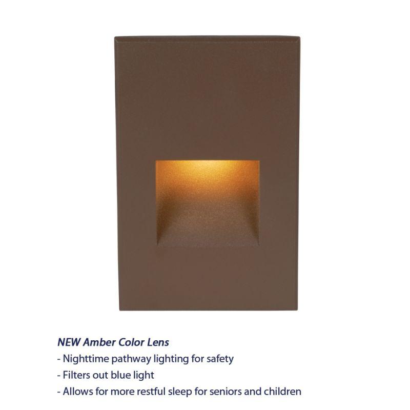 WAC Lighting WL-LED200-AM Rectangular Line Voltage LED Step Light with Sale $116.50 ITEM#: 2277219 MODEL# :WL-LED200-AM-BZ UPC#: 790576224886 :
