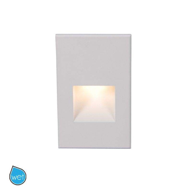 WAC Lighting WL-LED200-AM Rectangular Line Voltage LED Step Light with Sale $116.50 ITEM#: 2277221 MODEL# :WL-LED200-AM-WT UPC#: 790576224879 :