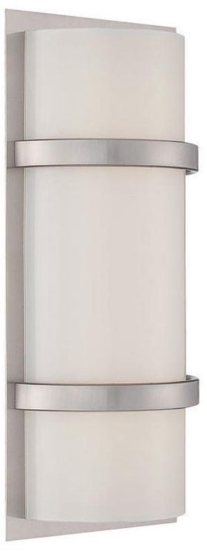 "WAC Lighting WS-6614 Vie 14"" LED Dimming Bathroom Bar Light Brushed Sale $199.00 ITEM#: 2416392 MODEL# :WS-6614-BN UPC#: 790576298870 :"
