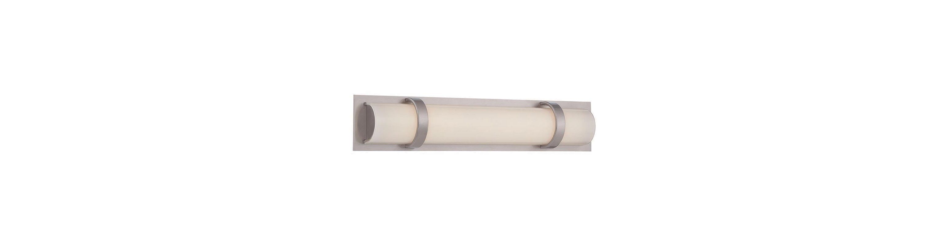 "WAC Lighting WS-6618 Vie 18"" LED Dimming Bathroom Bar Light Brushed Sale $199.00 ITEM#: 2416394 MODEL# :WS-6618-BN UPC#: 790576298917 :"