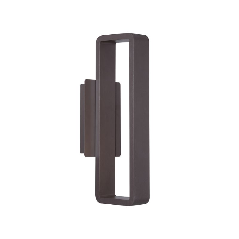 """WAC Lighting WS-W5817 Janus 17"""" LED Dimming Outdoor Wall Sconce with Sale $299.00 ITEM#: 2416453 MODEL# :WS-W5817-BZ UPC#: 790576296401 :"""