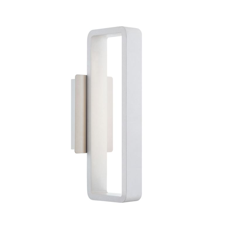 """WAC Lighting WS-W5817 Janus 17"""" LED Dimming Outdoor Wall Sconce with Sale $239.50 ITEM#: 2416455 MODEL# :WS-W5817-WT UPC#: 790576296425 :"""