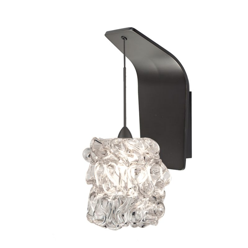 WAC Lighting WS72-G544 Candy Ribbon Glass Shade Halogen Wall Sconce Sale $249.50 ITEM#: 2439553 MODEL# :WS72-G544CL/RB UPC#: 790576317502 :