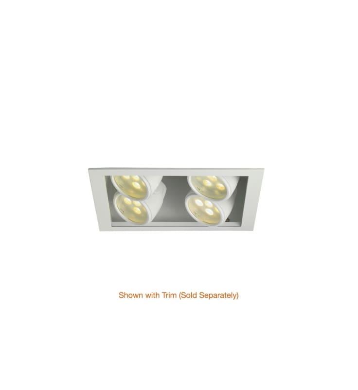 WAC Lighting MT-LED228S-27HS-WT Multiple Spot 2700K High Output LED