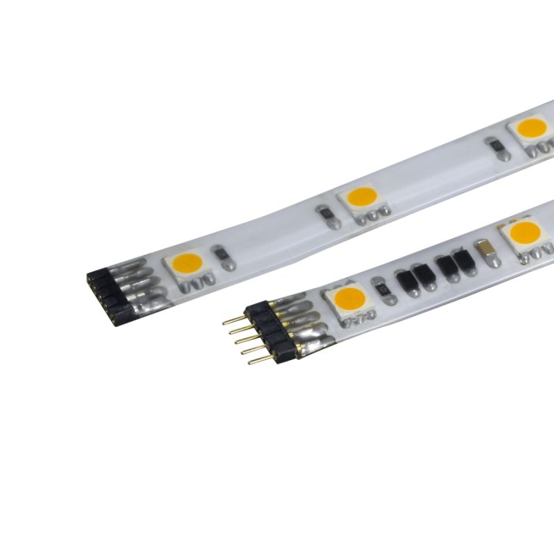 "WAC Lighting LED-T24P-5 60"" Length 3000K High Output LED Indoor Damp"