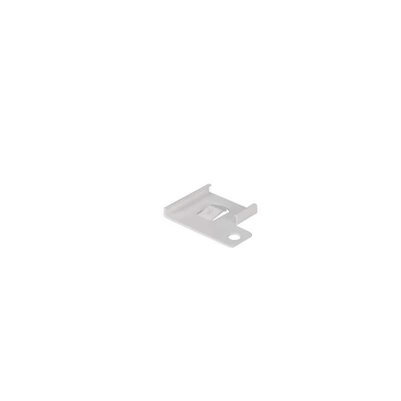 WAC Lighting SL-C1-WT Flat Mounting Clip for Straight Edge� Under