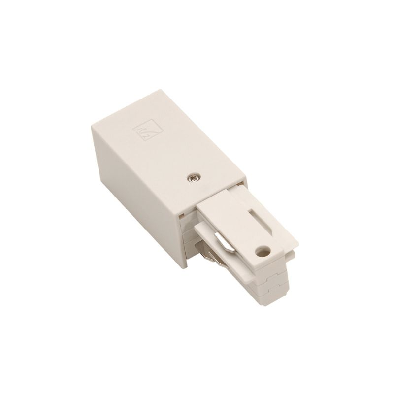 """WAC Lighting WEDL 6.75"""" Length Left Live End Connector for W-Track"""