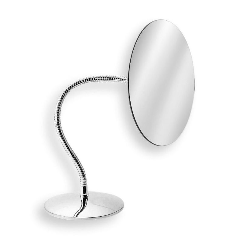 "WS Bath Collections Mevedo 5592 7.1"" Free Standing Makeup Mirror with"