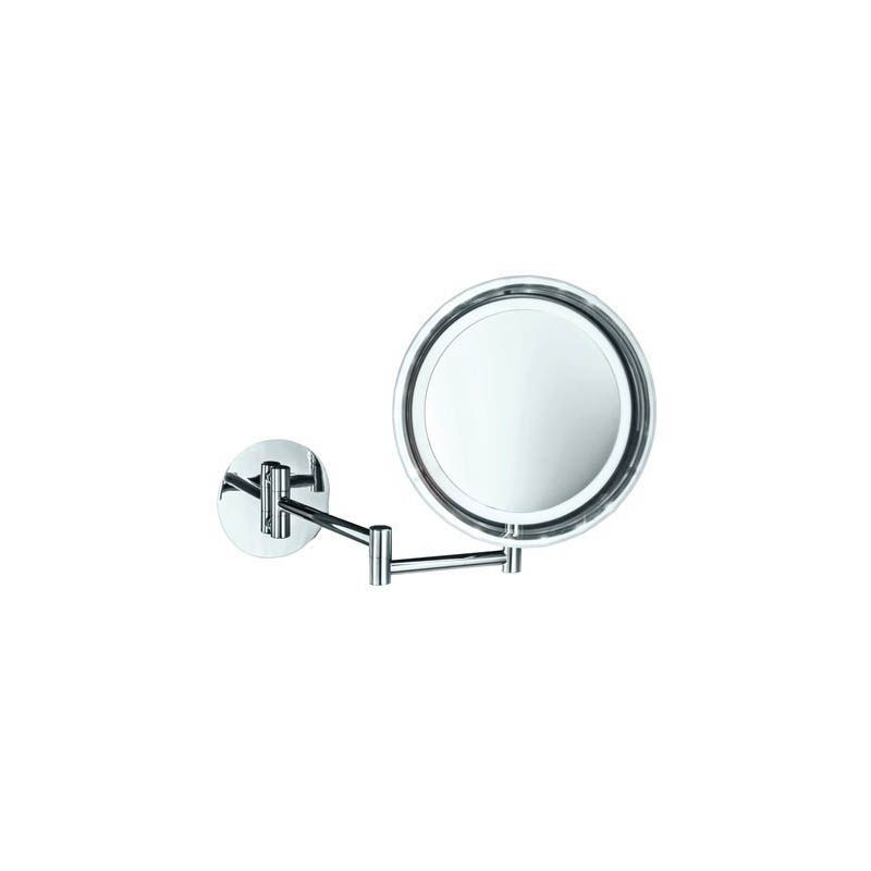 WS Bath Collections WS 16 Spiegel Battery Powered Circular Magnifying