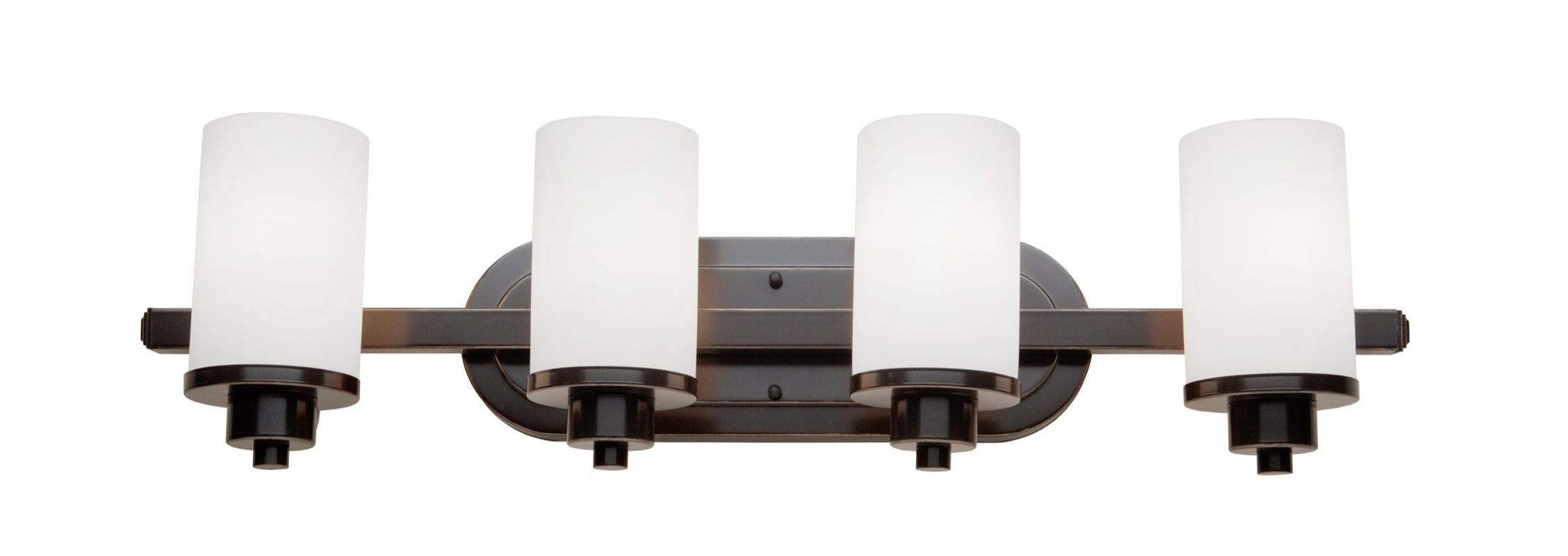 Vanity Lights Cyber Monday : LightingShowPlace.com AC1304WH in Oil Rubbed Bronze by Artcraft Lighting