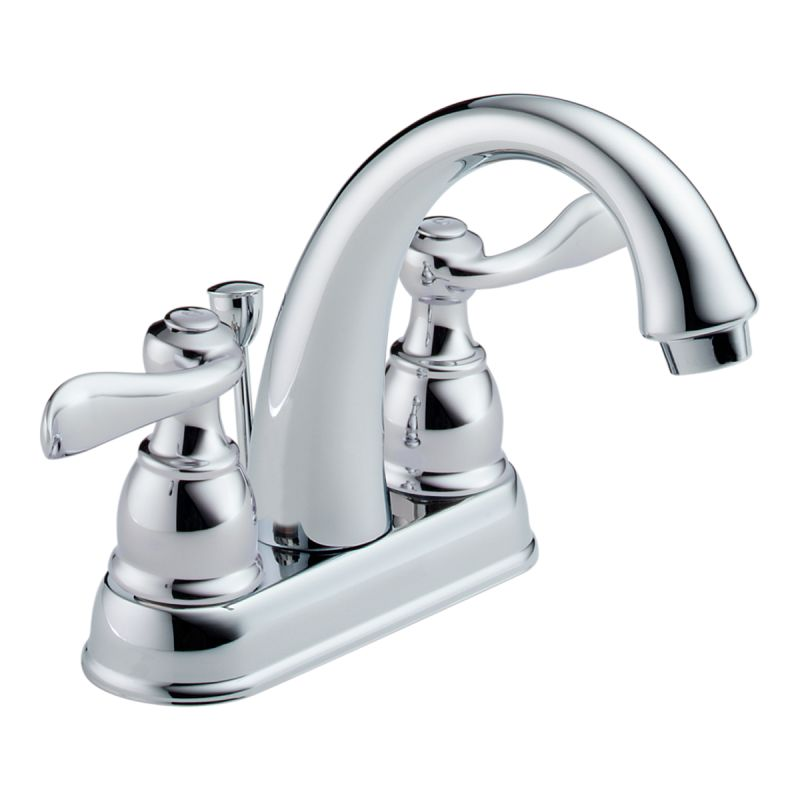 B2596lf in chrome by delta for Delta windemere bathroom faucet