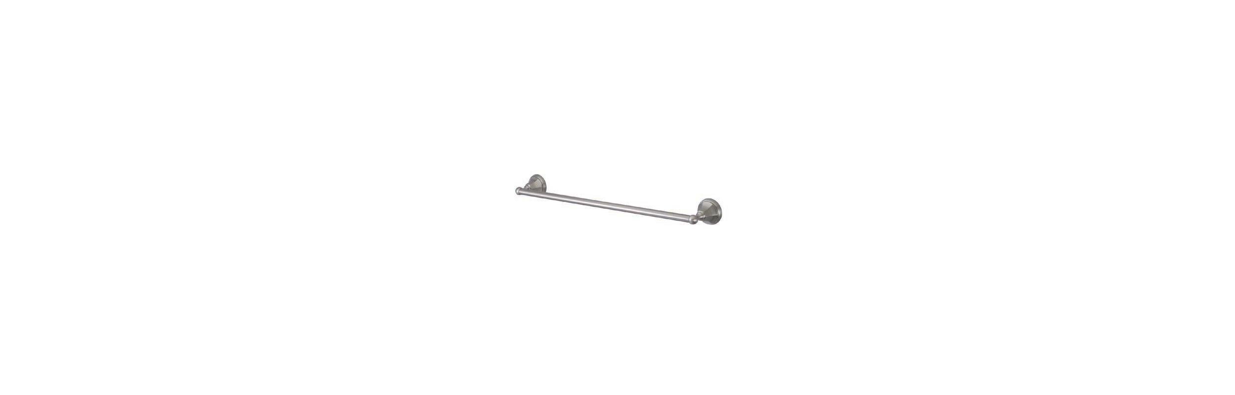 Elements of design eba4811sn satin nickel 24 quot towel bar from the new