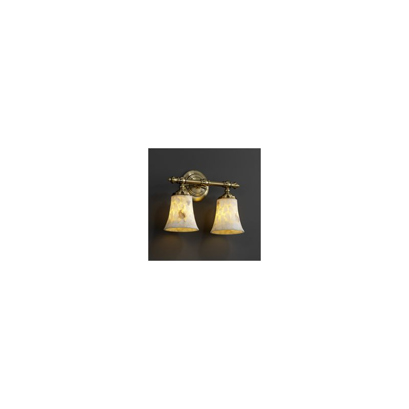 Alr 8522 20 abrs in antique brass by justice design group - Justice design group bathroom lighting ...