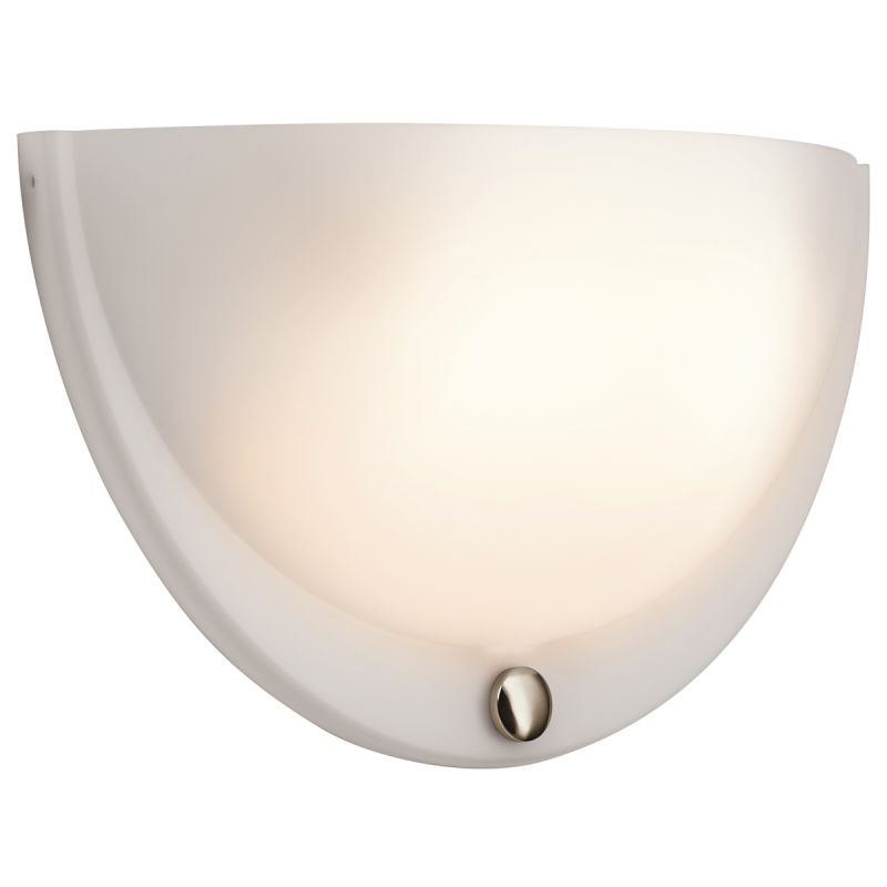 Wall Sconces Replacement Parts : LightingShowPlace.com 10472PN in Polished Nickel by Kichler