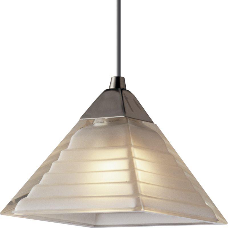 White Pendant Track Lighting: In Brushed Nickel By Progress Lighting