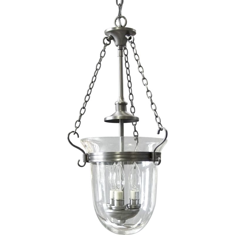 Foyer Lighting Replacement Glass : Lightingshowplace p in antique nickel by