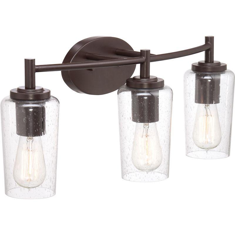 Adjustable Vanity Light Bar : Western Vanity Lights - Quoizel Eds8604wt Edison Vintage Western Bronze Finish 32 5 Quot Wide 4 ...