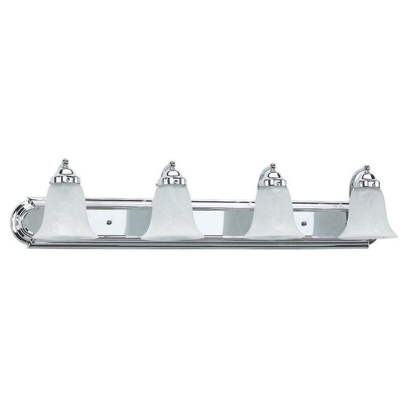 sea gull lighting 49292ble 05 chrome astoria 4 light energy star title. Black Bedroom Furniture Sets. Home Design Ideas