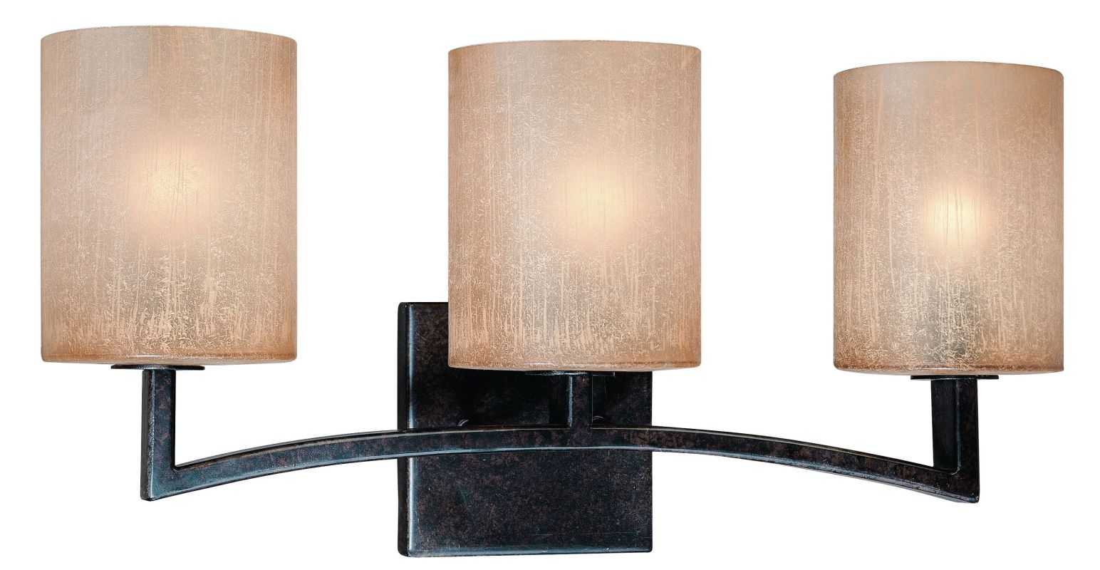 Lighting B1733ABZ Antique Bronze Austin 3 Light Bathroom Vanity Light